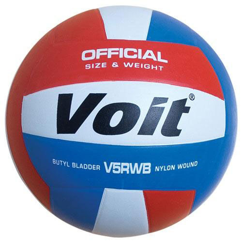 Our Voit® V5RWB Rubber Volleyball is on sale now.