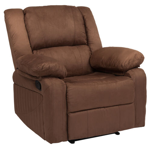 Our Harmony Series Chocolate Brown Microfiber Recliner is on sale now.