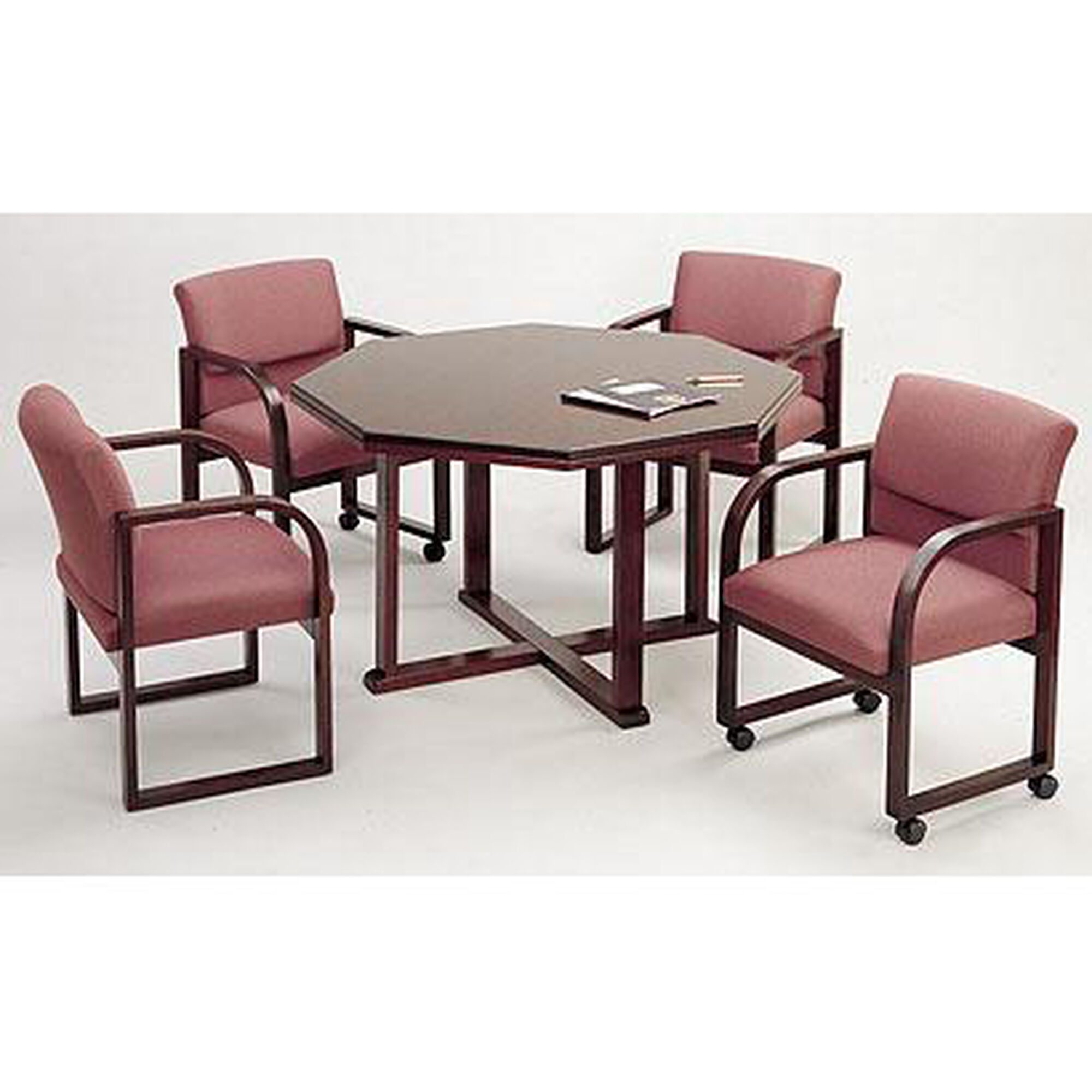 Octagon Conference Table Wood Ct1842t9 Bizchair Com