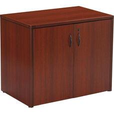 OSP Furniture Napa Storage Cabinet - Mahogany