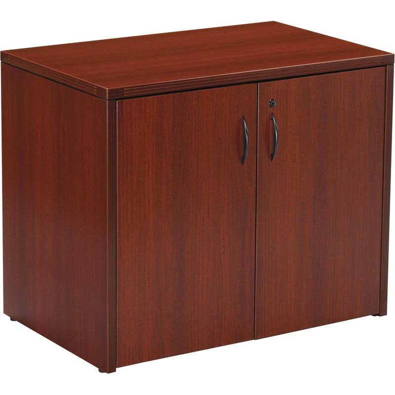 OSP Furniture Napa Storage Cabinet   Mahogany