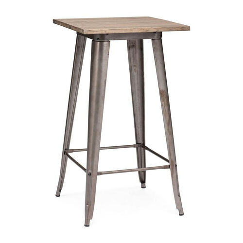 Our Titus Bar Table in Rustic Wood is on sale now.