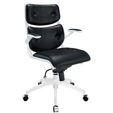Push Midback Office Chair in Black