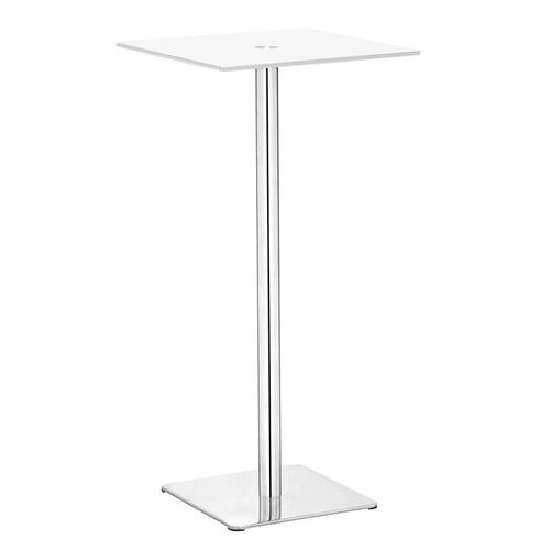 Dimensional Bar Table in White