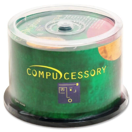 Our Compucessory Branded Recordable Cd-R Spindle - Pack Of 50 is on sale now.