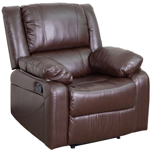 Our Harmony Series Brown LeatherSoft Recliner is on sale now.