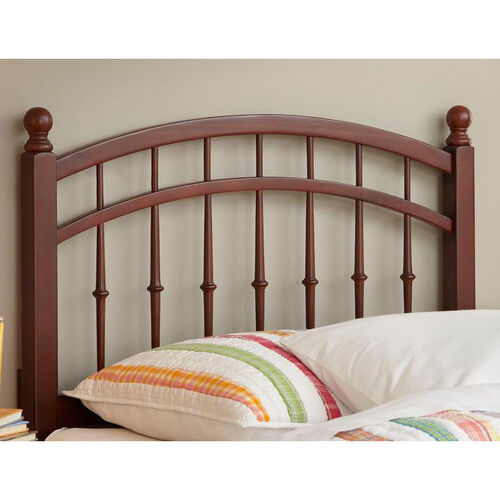 Our Bailey Transitional Intricate Wood Spindles Headboard - Twin - Merlot is on sale now.