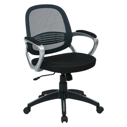 Our OSP Designs Bridgeport Office Chair with Screen Back - Grey is on sale now.