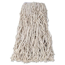 Rubbermaid® Commercial Economy Cut-End Cotton Wet Mop Head - 24oz - 1