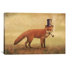 Crazy Like A Fox by Terry Fan Gallery Wrapped Canvas Artwork - 26