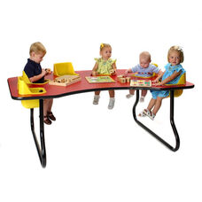 6 Seat Toddler Table
