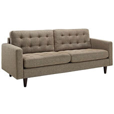 Empress Upholstered Sofa in Oatmeal