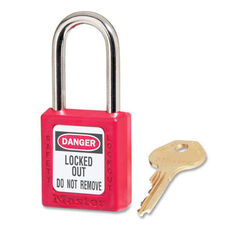 Master Lock Company Danger Red Safety Padlock
