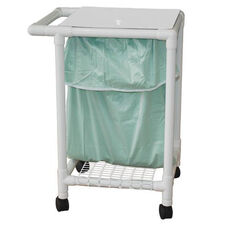 Leak-Proof Laundry Hamper with Leak Proof Bag and Casters - 22.5