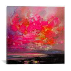 Magenta Plasma by Scott Naismith Gallery Wrapped Canvas Artwork