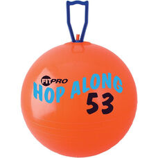 FitPro Hop Along Medium Pon Pon Ball in Red - Ages 7-10