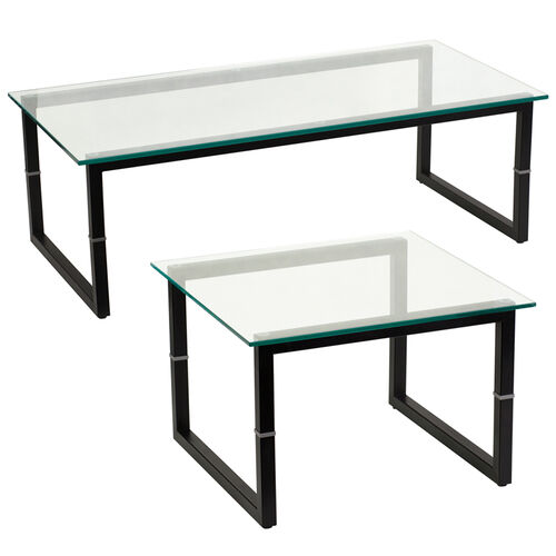 Our Glass End and Coffee Table Set is on sale now.