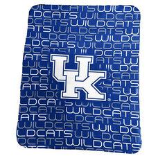 University of Kentucky Team Logo Classic Fleece Throw