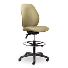 Contour II 300 Series Medium Single Shift Adjustable Swivel and Seat Height Stool
