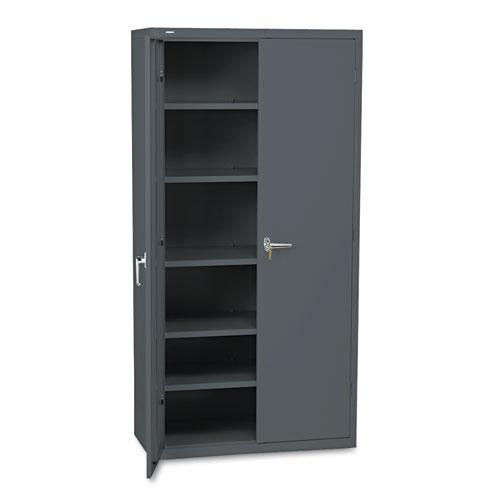 Our HON® Assembled Storage Cabinet - 36w x 18-1/4d x 71-3/4h - Charcoal is on sale now.