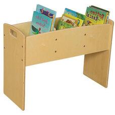 Contender 3 Bin Wooden Bookwell - Assembled - 30