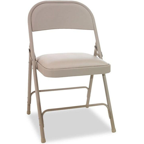 Our Alera® Steel Folding Chair with Padded Seat - Tan - 4/Carton is on sale now.