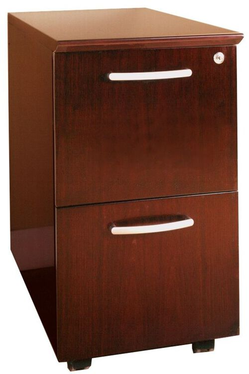 Our Napoli and Corsica Mobile File File Pedestal - Sierra Cherry on Cherry Veneer is on sale now.