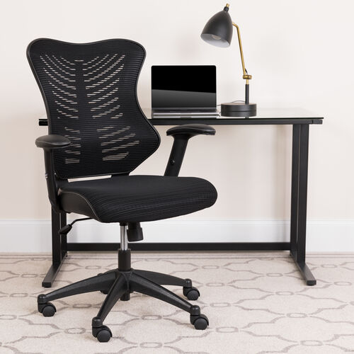 Our High Back Designer Mesh Executive Swivel Ergonomic Office Chair with Adjustable Arms is on sale now.