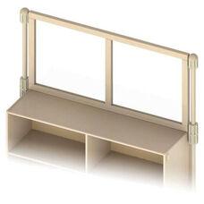 KYDZSuite™ Upper Deck Divider - See-Thru