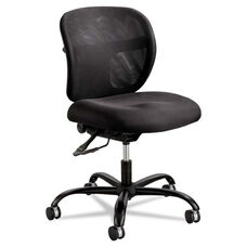 Safco® Vue Intensive Use Mesh Task Chair - Polyester Seat - Black