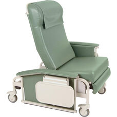 XL Drop Arm Care Recliner with Nylon Casters