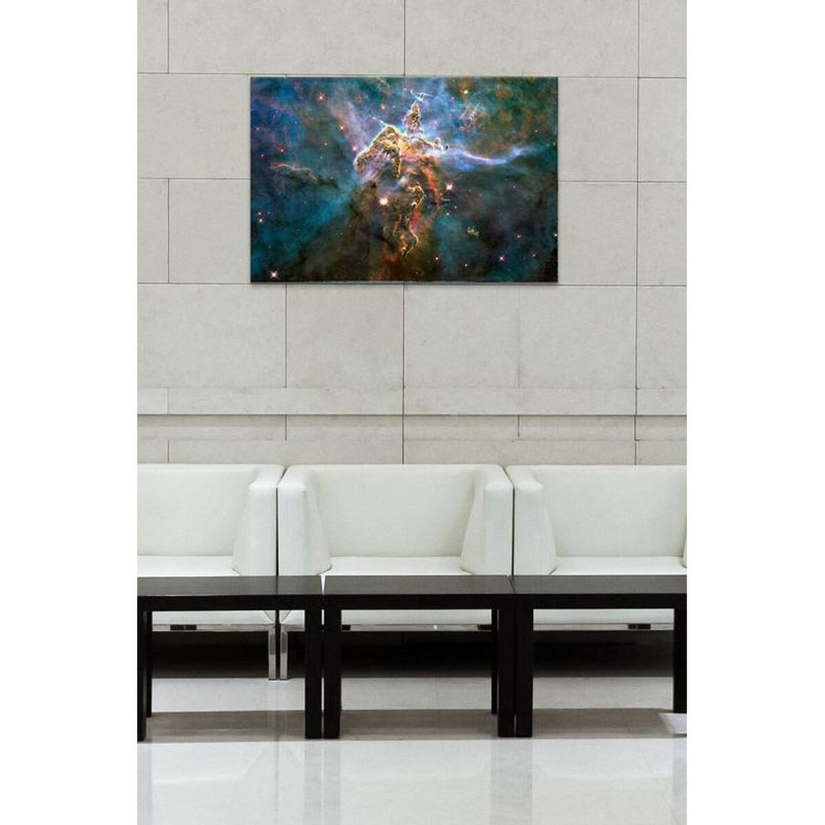 Canvas Artwork Floating Frame 11030-1PC6-26x18-FF01 | Bizchair.com