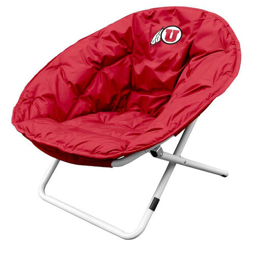 University of Utah Team Logo Folding Sphere Chair