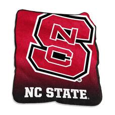 North Carolina State University Team Logo Raschel Throw