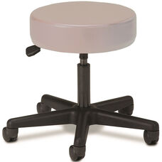 Pneumatic Adjustable Medical Stool - Cream with Black Base