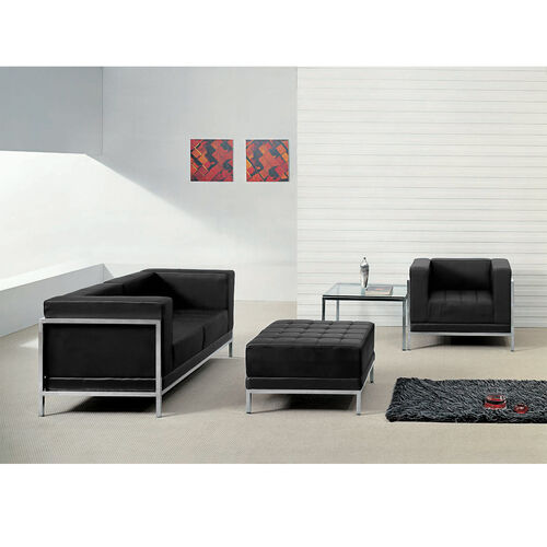 Our HERCULES Imagination Series Black LeatherSoft Loveseat, Chair & Ottoman Set is on sale now.