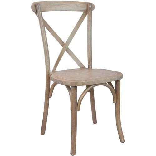 Advantage Driftwood X-Back Chair