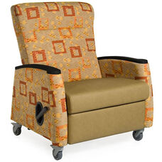 Tranquility Medical Bariatric Recliner - Grade 2 Fabric