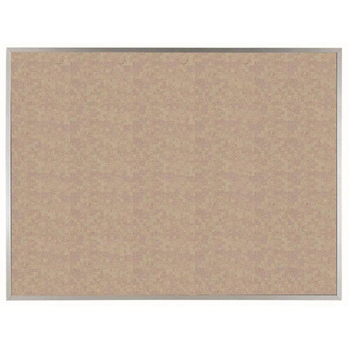 Our VIC Cork Bulletin Board with Satin Anodized Aluminum Frame - Buff - 36