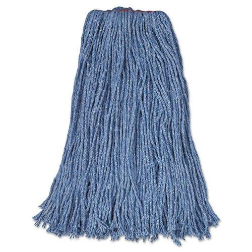Our Rubbermaid® Commercial Cotton/Synthetic Cut-End Blend Mop Head - 24oz - 1
