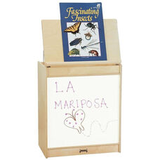 Wooden Big Book Easel with Write-N-Wipe Surface - 24.5