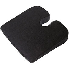 Relaxzen Coccyx Support Wedge Seat Cushion - Black