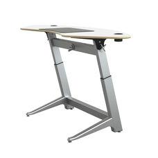 Focal™ Sphere Standing Desk - Glacier White