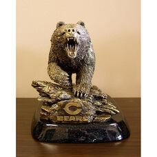 Chicago Bears Tim Wolfe Sculpture