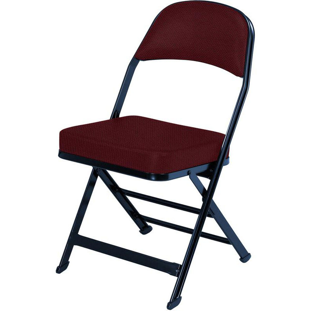 Our 3000 Series Fabric Upholstered Seat And Back Folding Chair With B Style Is On