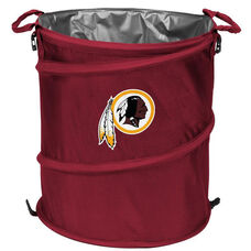 Washington Redskins Team Logo Collapsible 3-in-1 Cooler Hamper Wastebasket