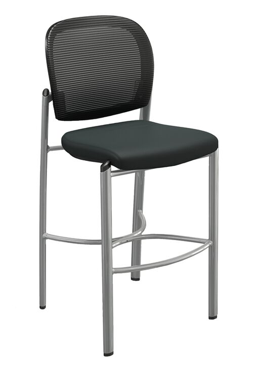 Our Valore Mesh and Fabric Stool - Set of 2 - Black Back and Seat is on sale now.