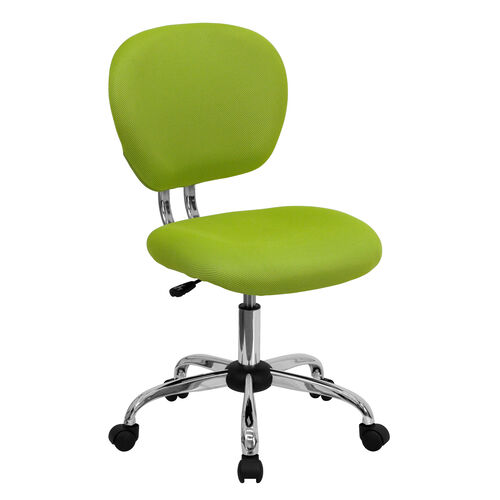 Our Mid-Back Apple Green Mesh Padded Swivel Task Office Chair with Chrome Base is on sale now.