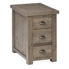 Slater Mill Reclaimed Pine Chairside Table