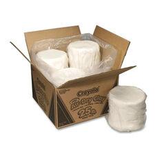 Crayola Air Dry Clay - 25 lb. - 4 Slugs/PK - White